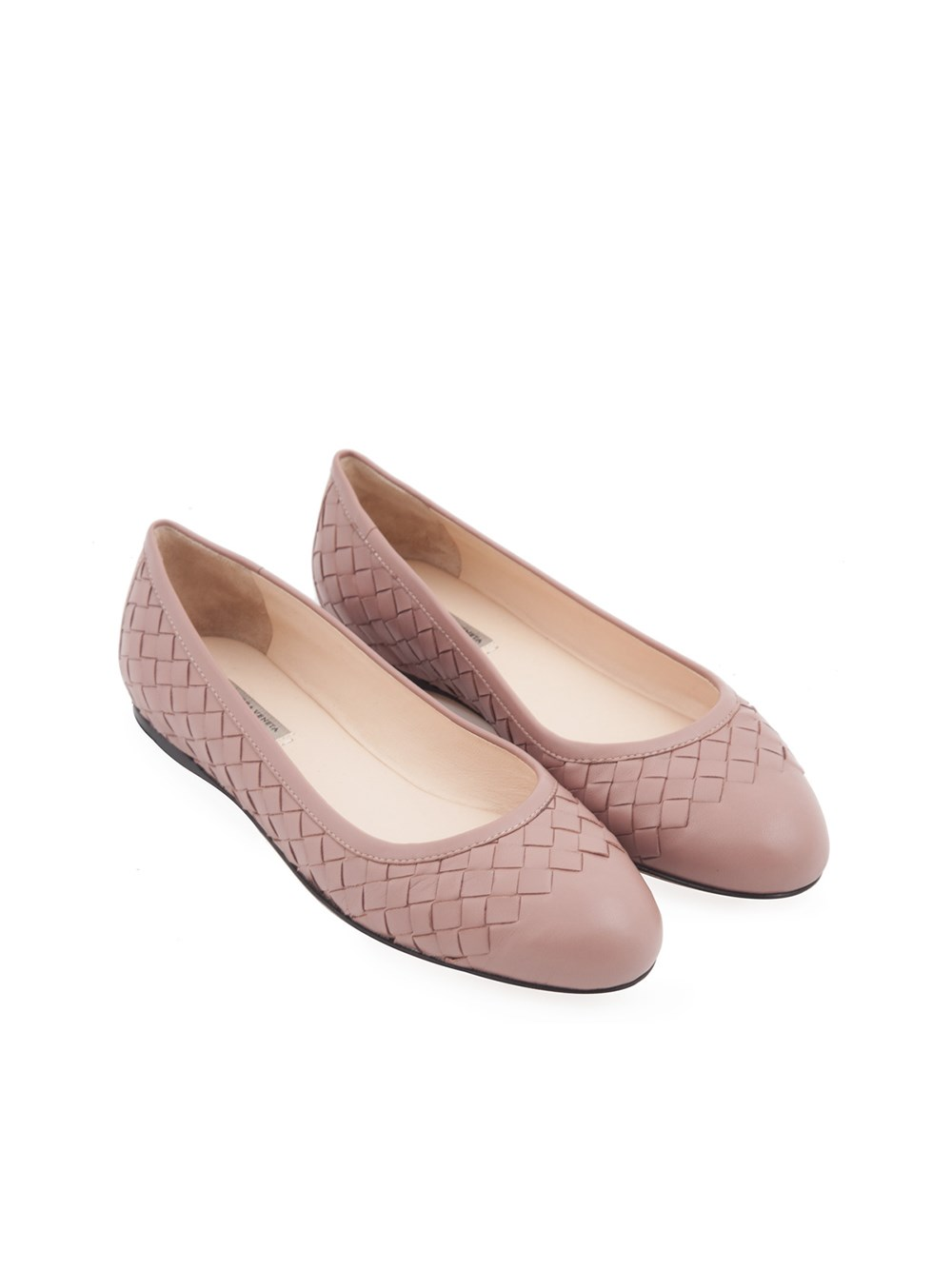 prezzo più basso con negozio del Regno Unito scarpe da corsa BALLERINA INTRECCIATA BOTTEGA VENETA
