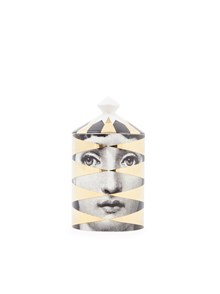 FORNASETTI 300 G NATURAL WAX CANDLE LOSANGHE GOLD