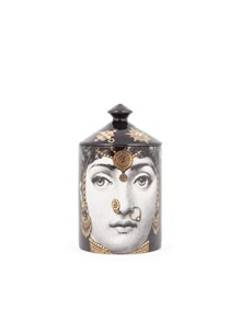 FORNASETTI CANDELA 300 G NATURAL WAX CANDLE LECLAIREUSE