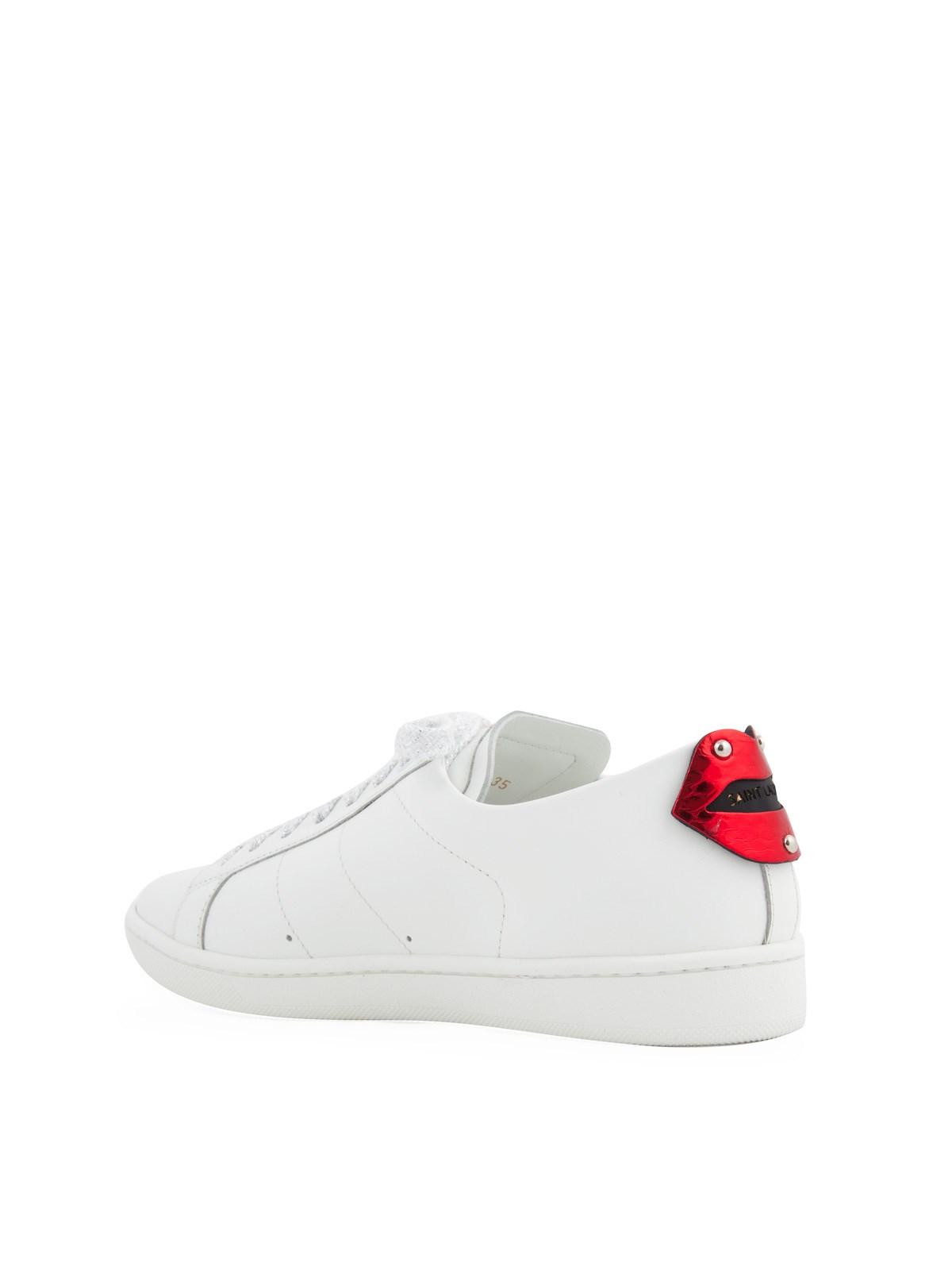 ysl sneakers lips