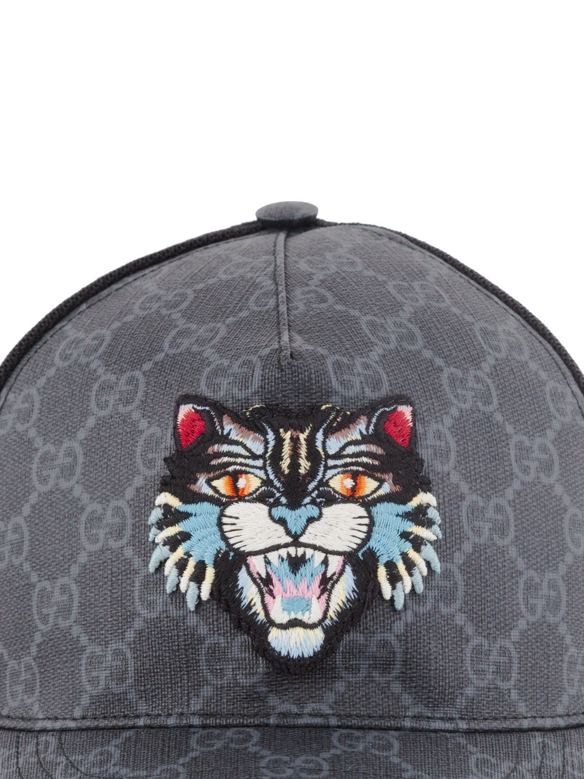 651b8557db496 gucci GG SUPREME ANGRY CAT BASEBALL CAP available on montiboutique ...