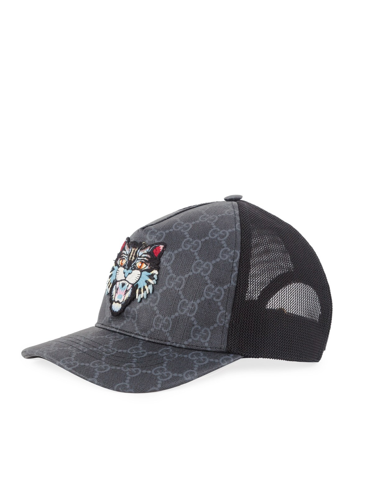 gucci GG SUPREME ANGRY CAT BASEBALL CAP available on montiboutique ... 08a60919d5b