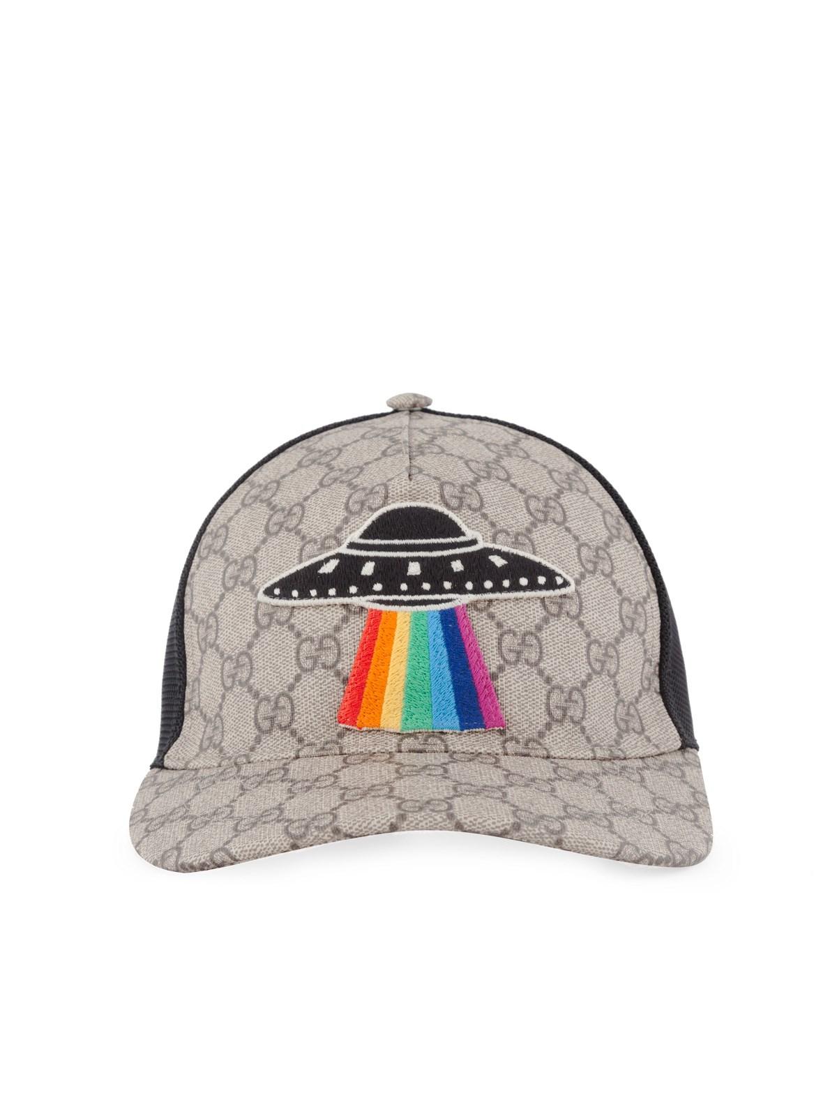 GG Supreme UFO applique cap Gucci gaqSh