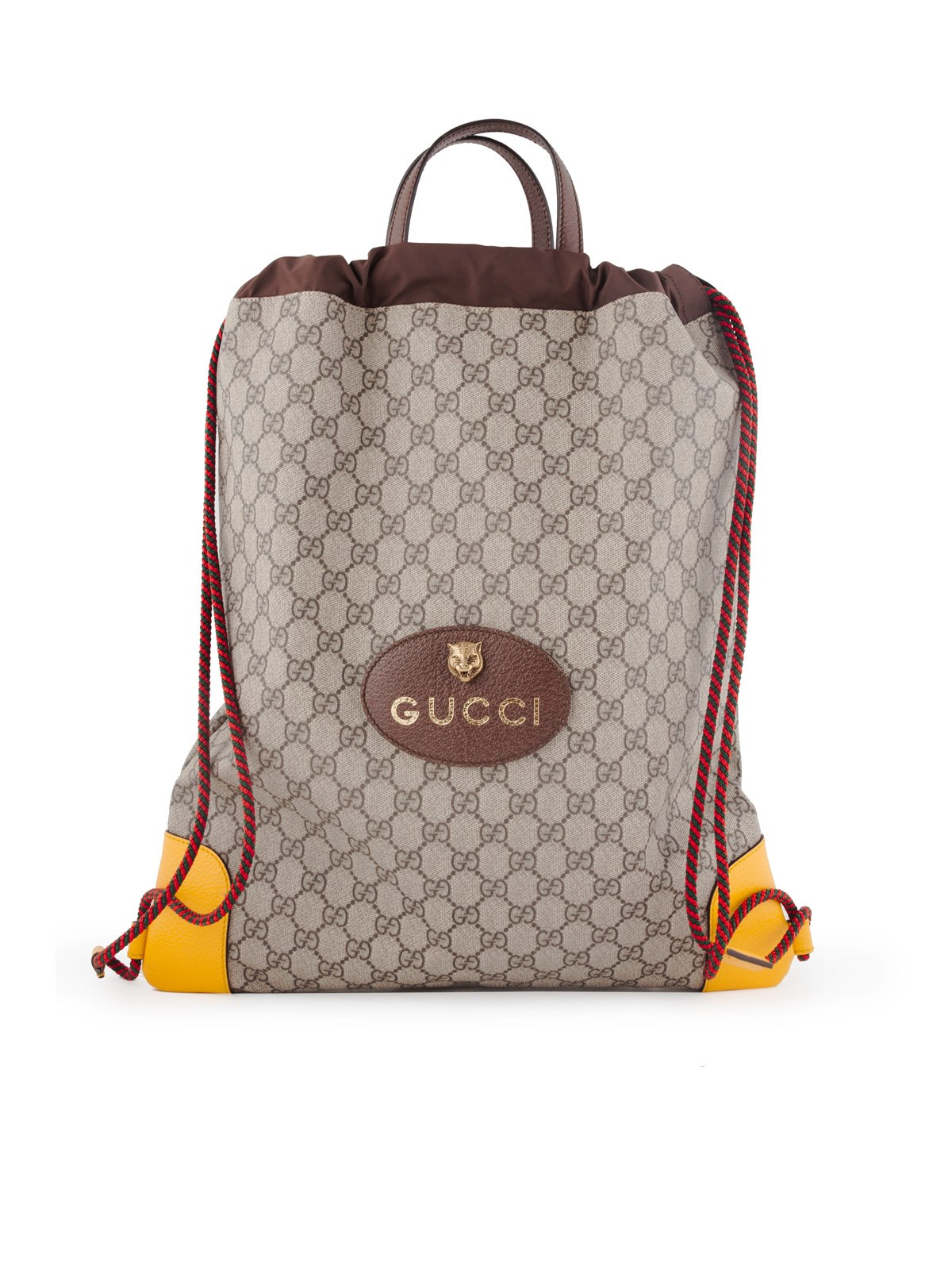 7ac498767c8 gucci GG SUPREME DRAWSTRING BACKPACK available on montiboutique.com ...