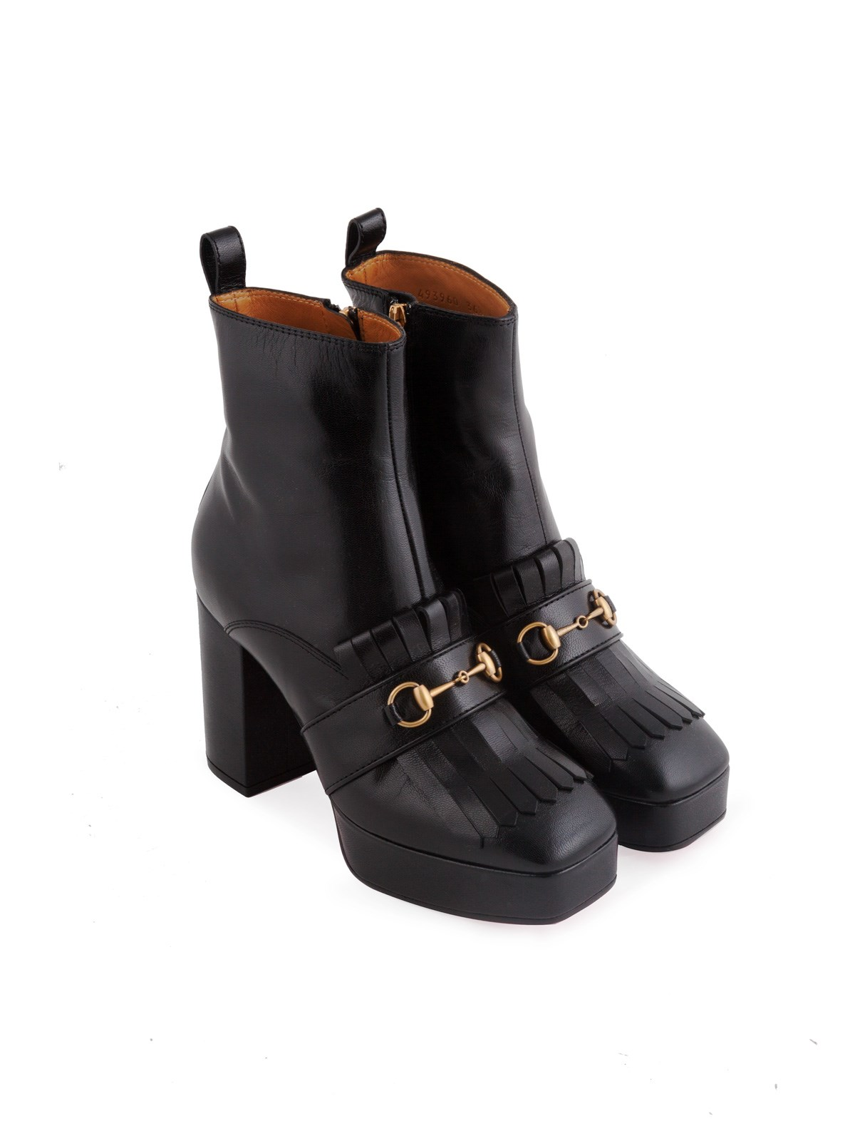 b8b0fbb93 gucci PLATFORM FRINGED BOOTS available on montiboutique.com - 20905