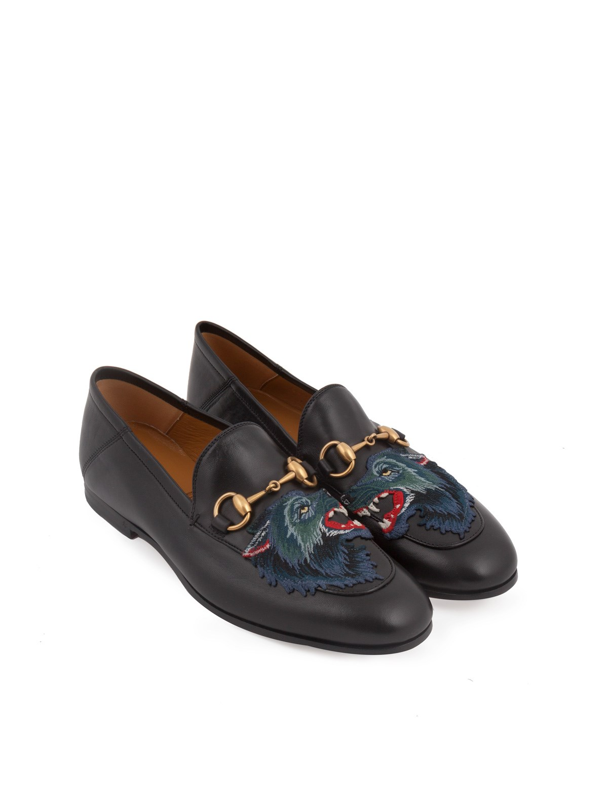 f8e0b322fe8 gucci LOAFERS WITH EMBROIDERED WOLF available on montiboutique.com ...