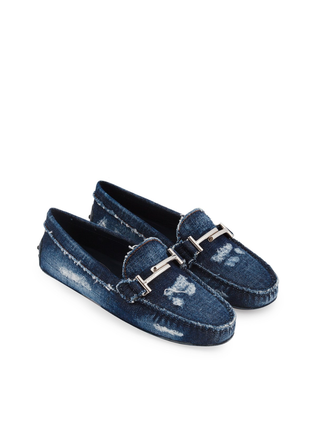 Loafers in Denim Tod's