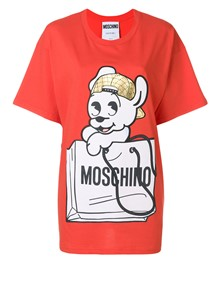 MOSCHINO T SHIRT STAMPA CANE