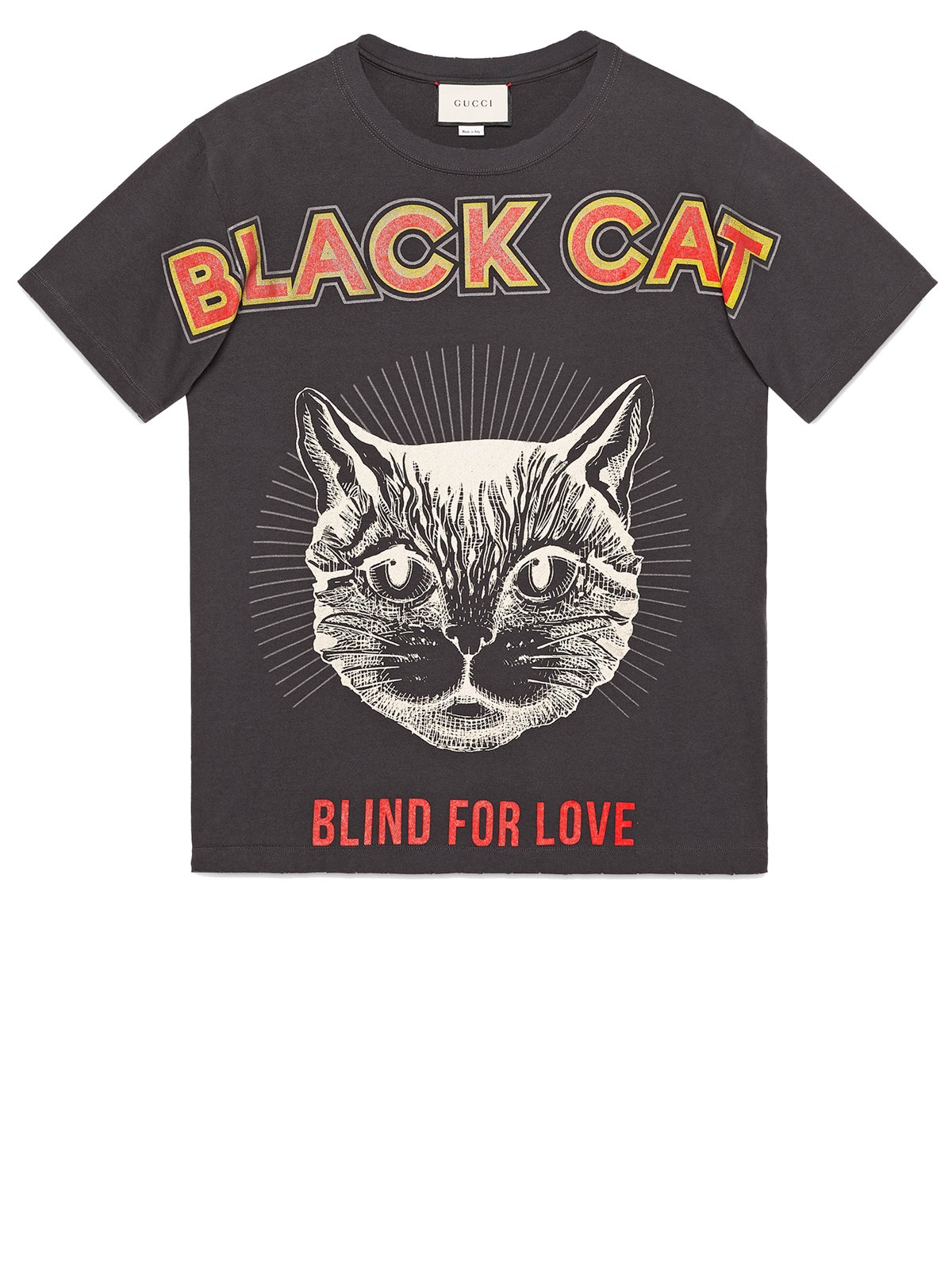 652fd4449f4c gucci BLACK CAT PRINTED T-SHIRT available on montiboutique.com - 21508