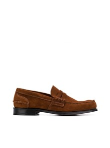 CHURCH'S MEDIUM HEEL LOAFERS