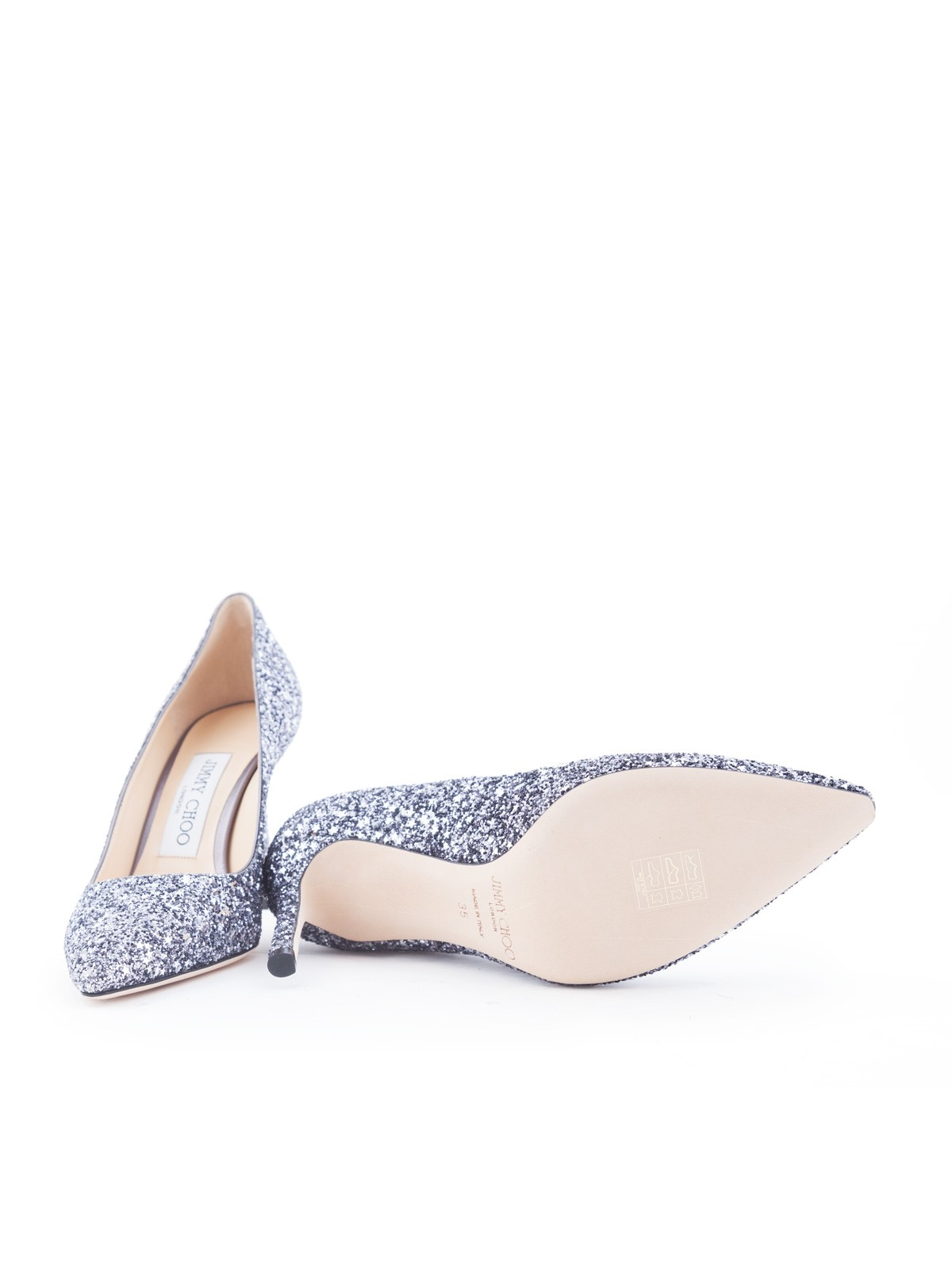 029f614e883 jimmy choo ROMY 85 GLITTER PUMPS available on montiboutique.com - 21567