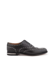 CHURCH'S STUDDED OXFORD SHOES