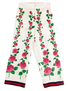 GUCCI SILK TROUSERS