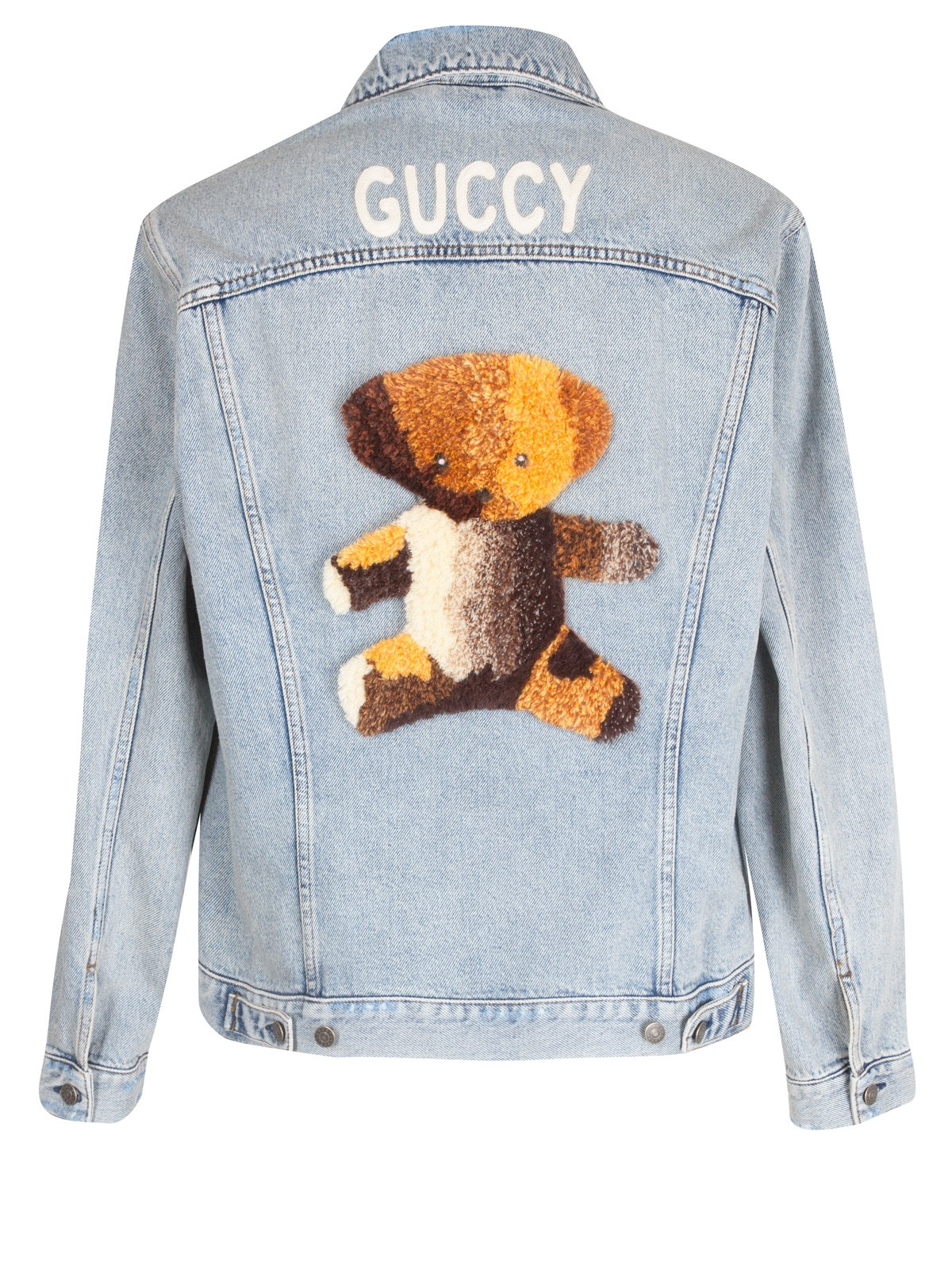Discover best collection exclusive deals TEDDY BEAR DENIM JACKET