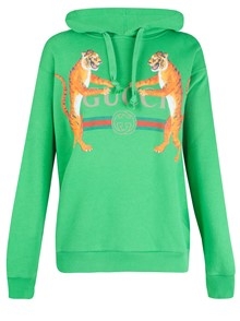 GUCCI TIGER PRINTED LOGO SWEATSHIRT