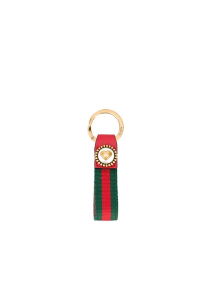 0f2a63f95 gucci WEB HEART KEYRING available on montiboutique.com - 21674