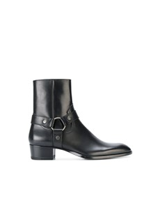 SAINT LAURENT PARIS WYATT 40 BOOTS