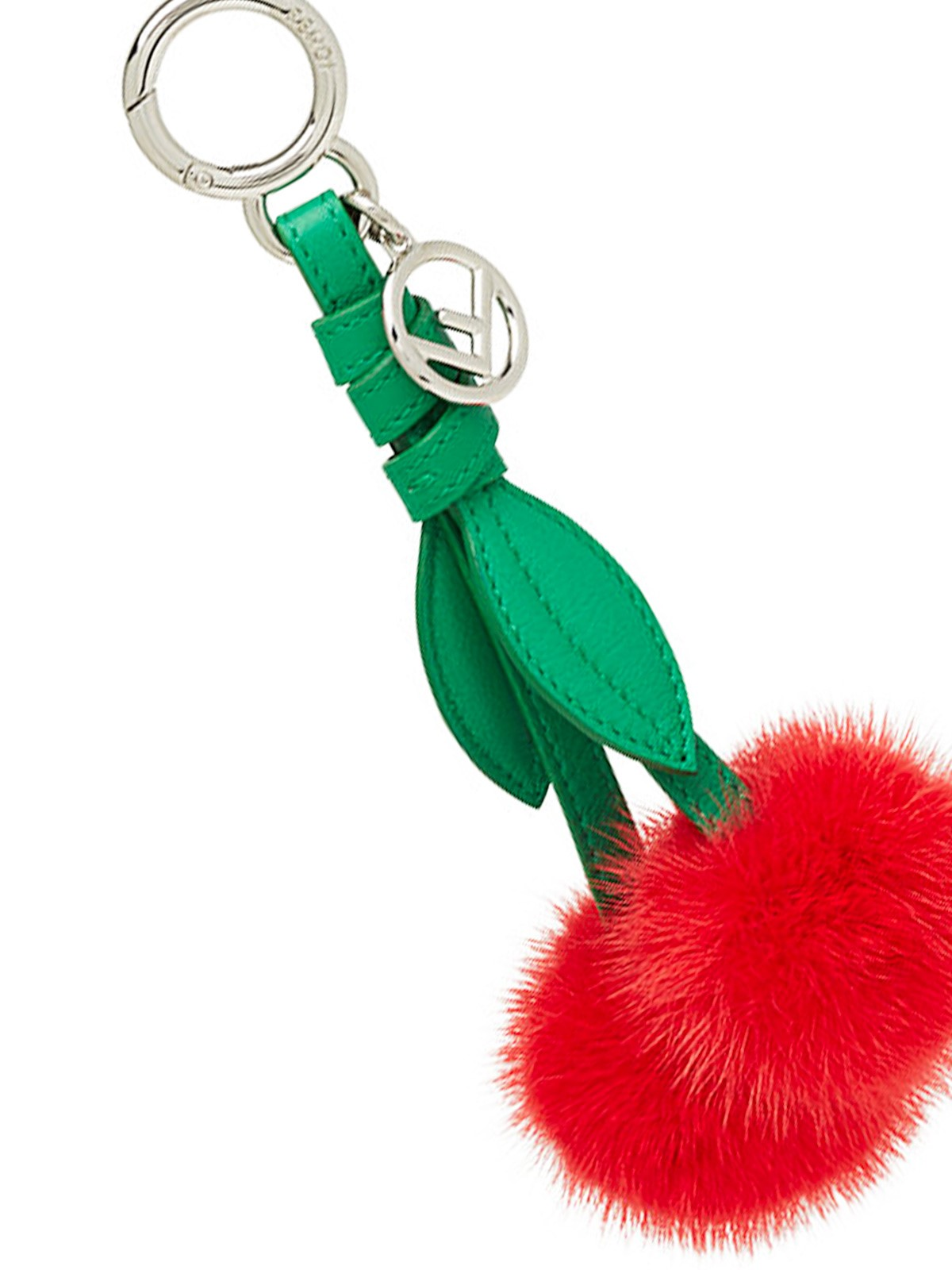 Limited Edition Cheap Online Clearance Store For Sale Fendi Cherry bag charm Discount Perfect Cheap Sale Wide Range Of Real Cheap Price J6dDO0o
