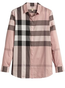 BURBERRY CAMICIA MOTIVO HOUSE CHECK