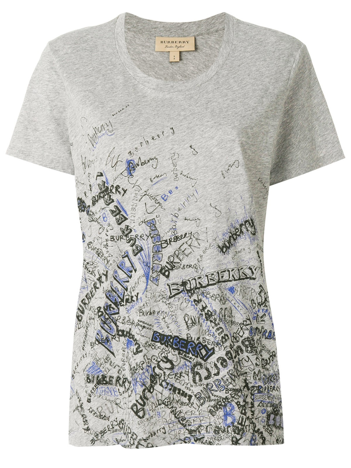 The Cheapest Cheap Wholesale Burberry doodle print T-shirt Sale Limited Edition Cheap Sale Wide Range Of Limited vj3Ua0