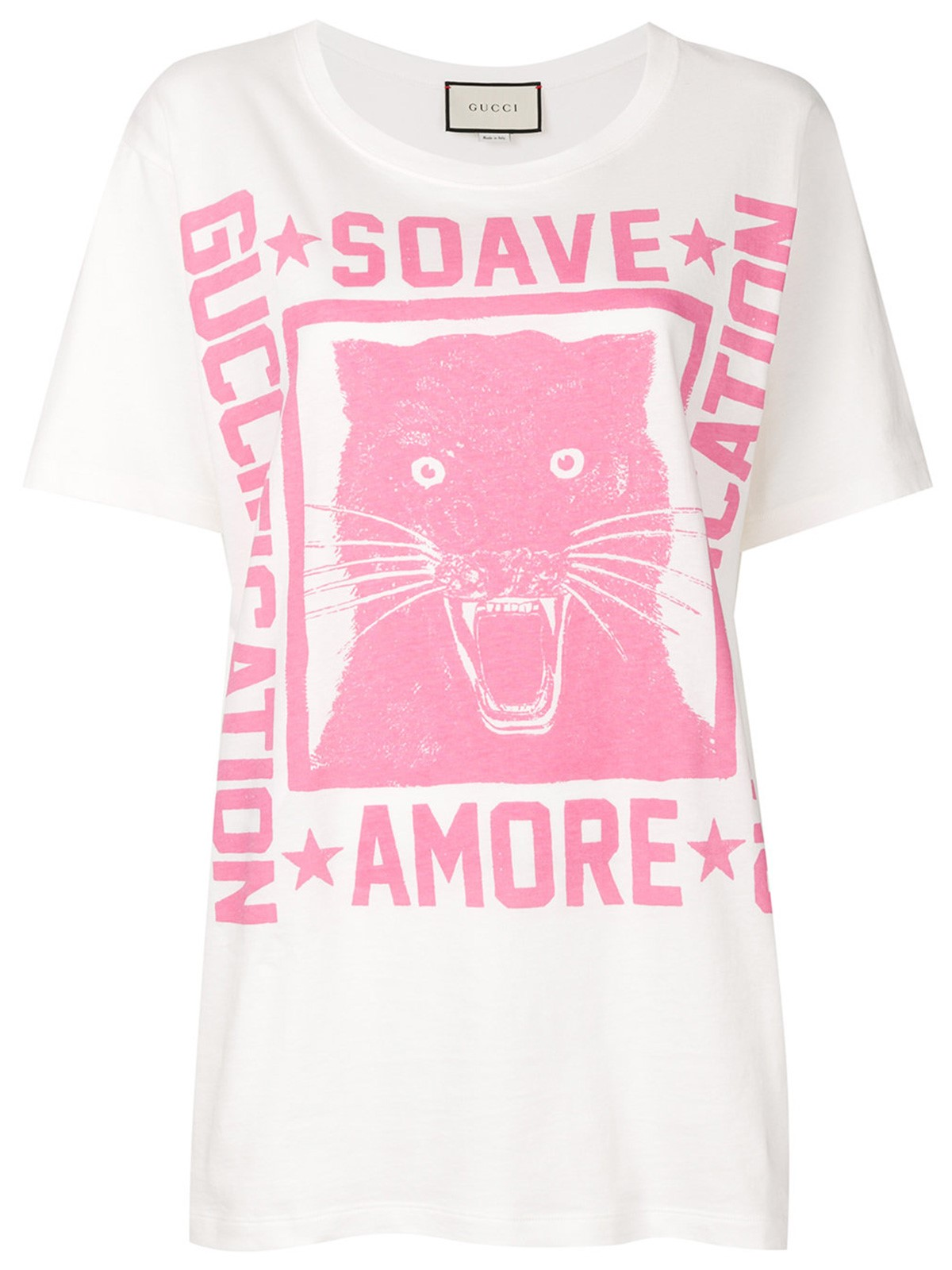 a3c5e7ea390 gucci SOAVE AMORE GUCCIFICATION PRINT T-SHIRT available on ...