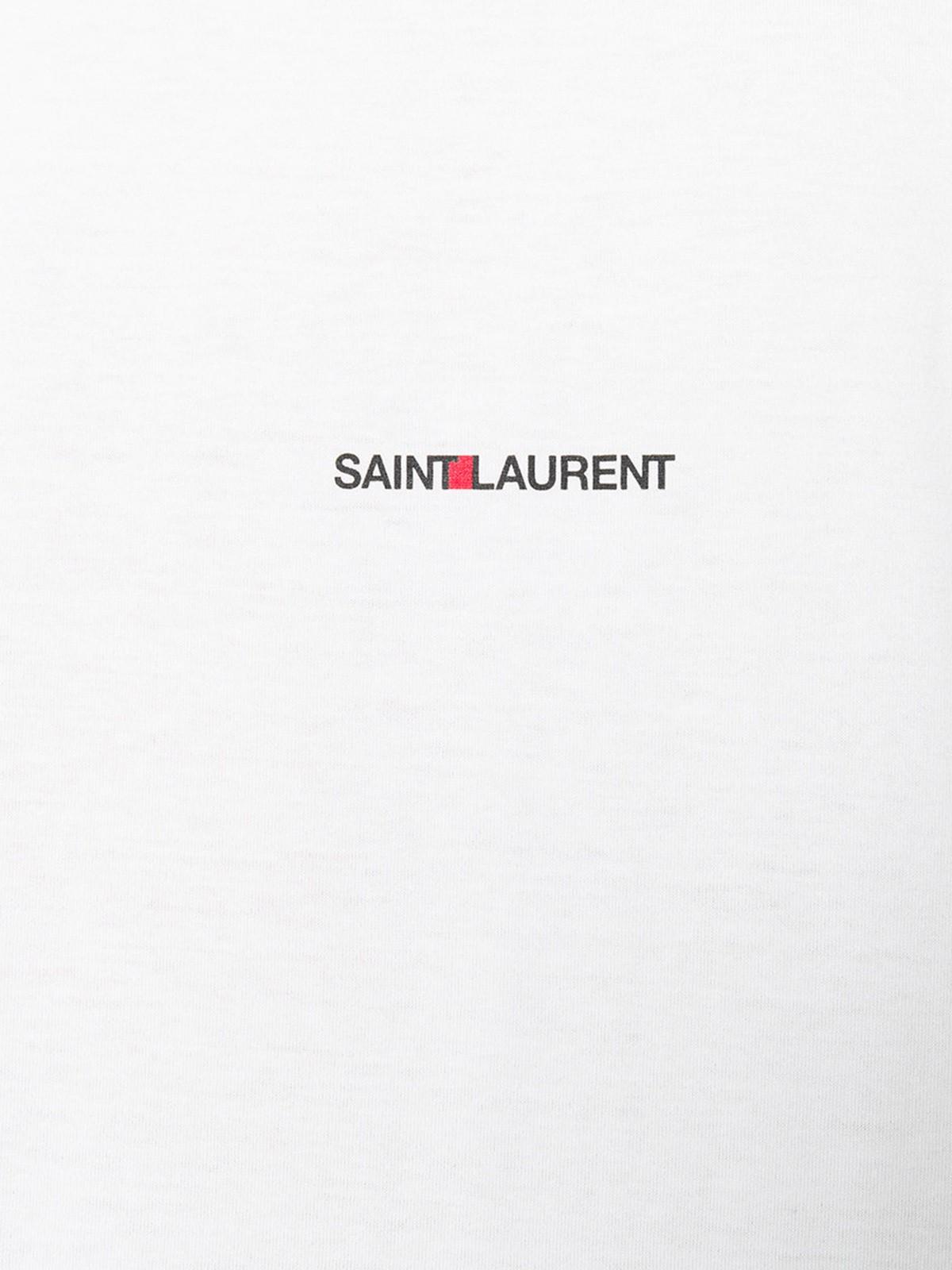 c18a8c988df saint laurent LOGO T-SHIRT available on montiboutique.com - 22005