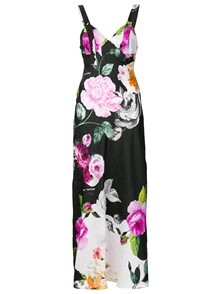 OFF-WHITE FLORAL PRINT DRESS