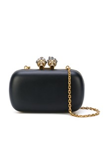 ALEXANDER MCQUEEN  QUEEN & KING CLUTCH BAG