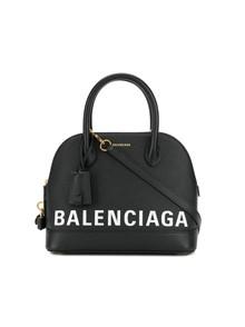 BALENCIAGA VILLE TOTE WITH LOGO