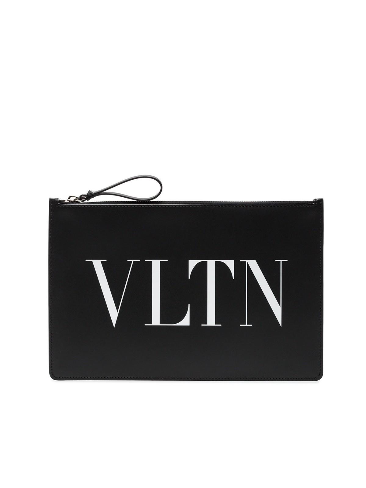 7a70aa2d1 valentino garavani VLTN LOGO CLUTCH available on montiboutique.com ...