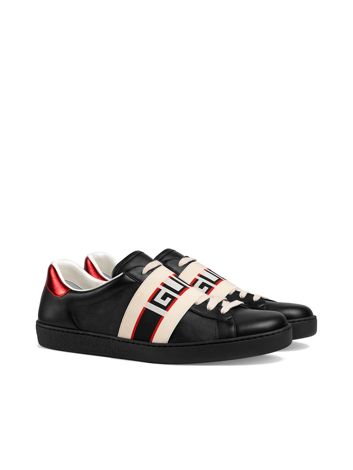 312a289a8d6 gucci LOGO ACE SNEAKERS available on montiboutique.com - 22781