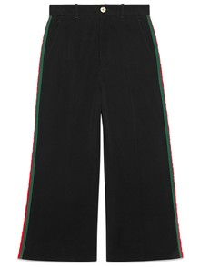 GUCCI WEB CULOTTE TROUSERS
