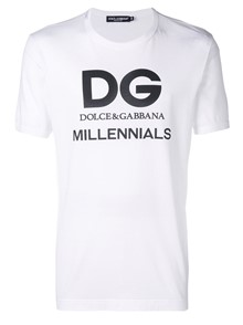 DOLCE & GABBANA MILLENNIALS LOGO T-SHIRT