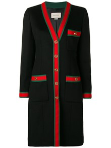GUCCI WEB STRIPE COAT