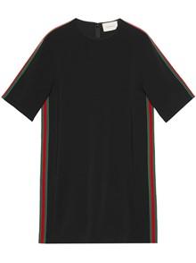 GUCCI TUNIC DRESS WITH WEB BAND