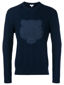 KENZO TIGER CABLE SWEATER