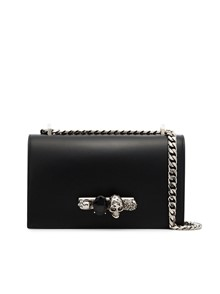 ALEXANDER MCQUEEN  FOUR RINGS CROSS BODY BAG