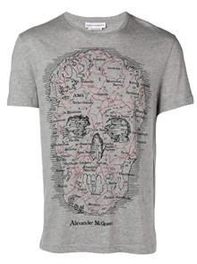 ALEXANDER MCQUEEN  SKULL MAP T-SHIRT
