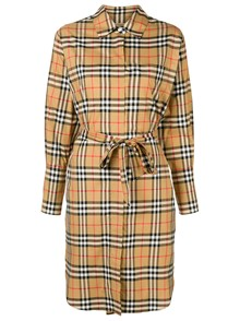 BURBERRY HOUSE CHECK MOTIF DRESS