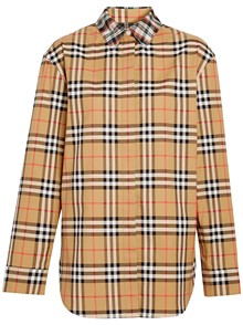 BURBERRY HOUSE CHECK MOTIF SHIRT