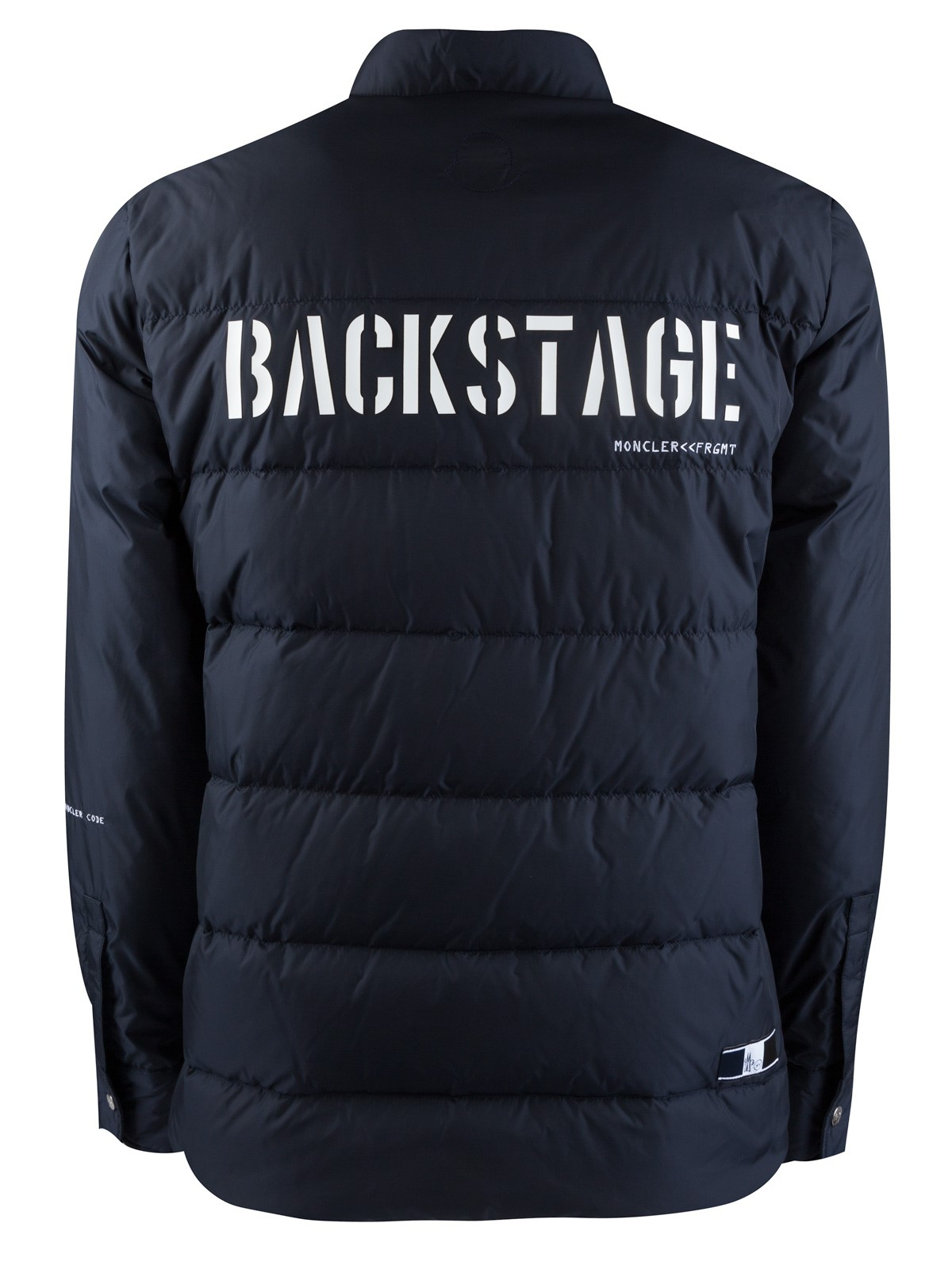 giacca moncler backstage