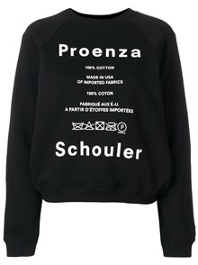 PROENZA SCHOULER FELPA CARE LABEL