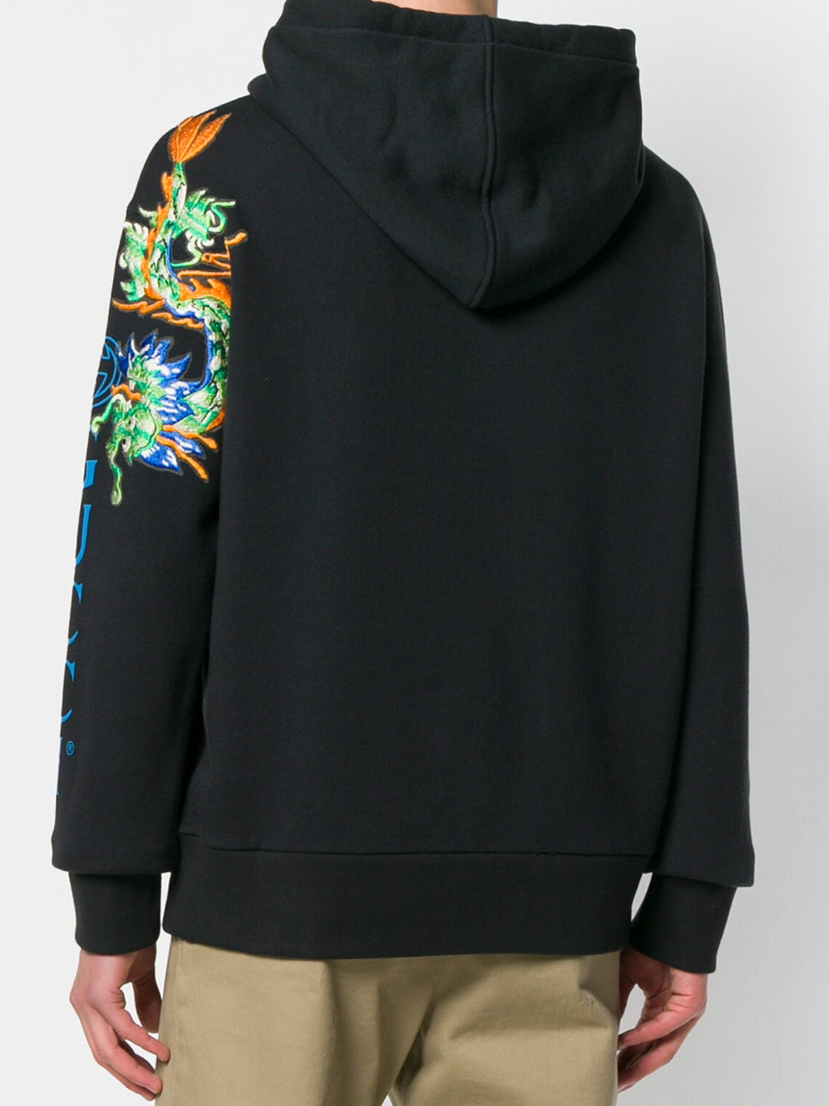 fc71c3ca770 gucci LOGO SWEATSHIRT WITH DRAGON PRINT available on montiboutique ...