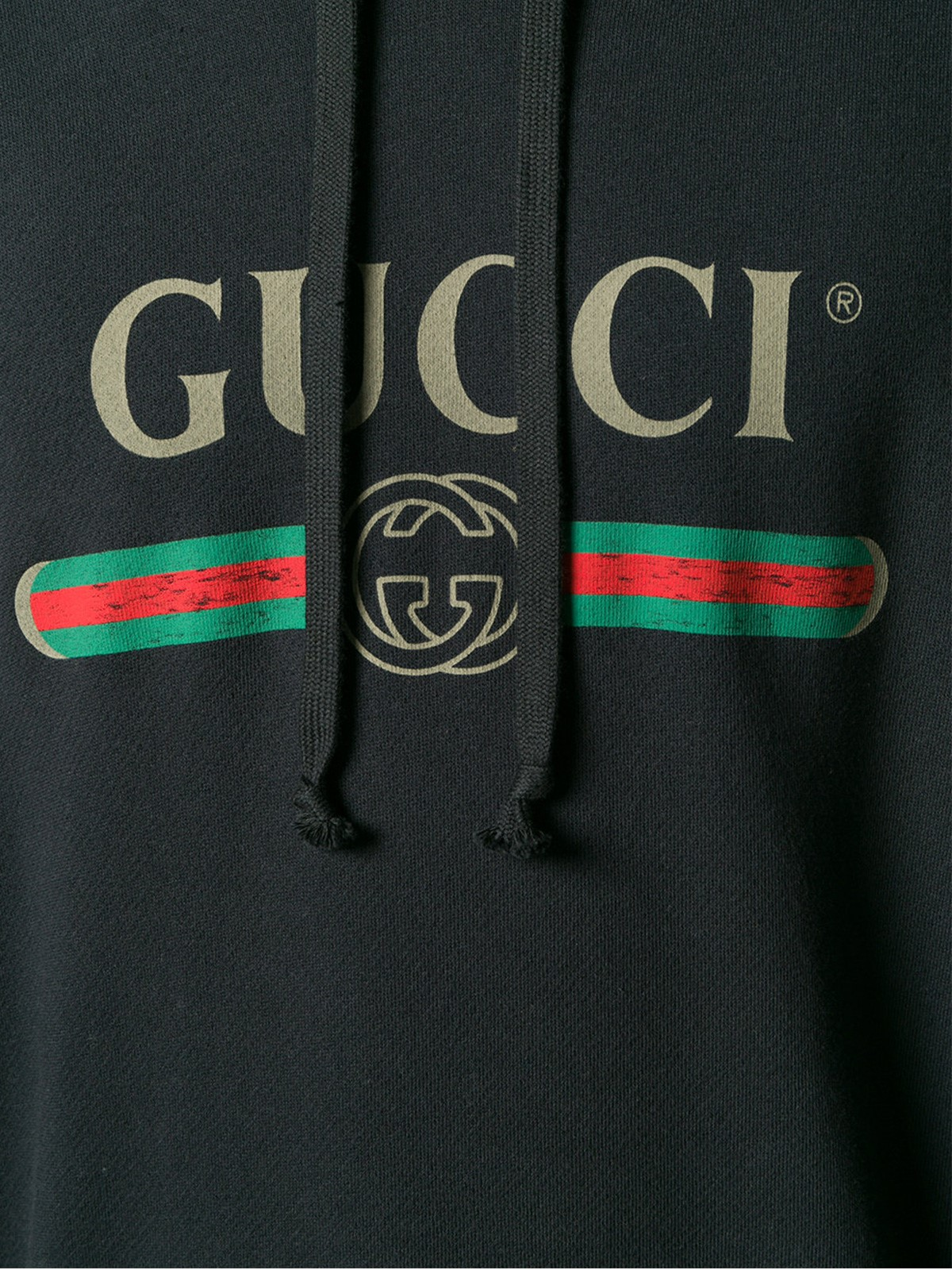 f87d37608a3 gucci LOGO SWEATSHIRT WITH DRAGON PRINT available on montiboutique ...