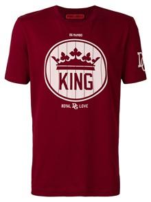 DOLCE & GABBANA KING CREW PRINT T-SHIRT