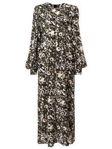 MARNI FLORAL PRINT LONG DRESS