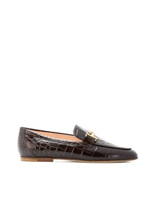 TOD'S BUCKLE DETAIL LOAFERS