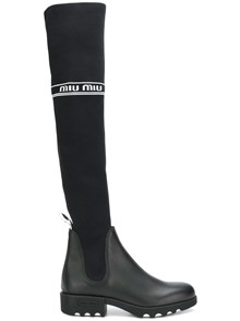 MIUMIU OVER THE KNEE BOOTS