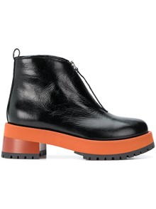 MARNI ZIPPED BOOTS