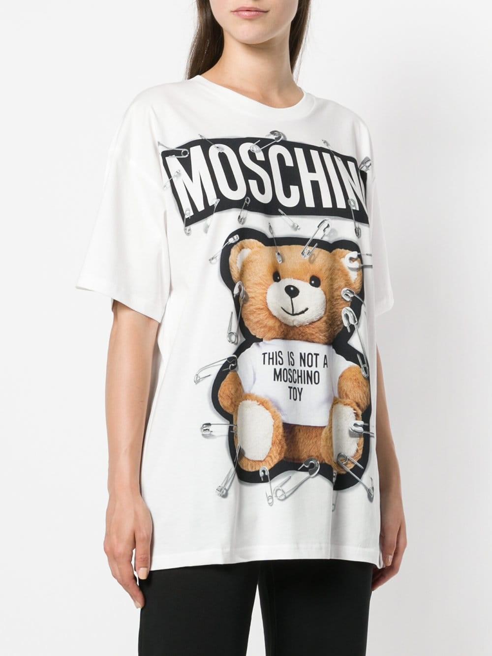 378785707e8 moschino TEDDY BEAR T-SHIRT available on montiboutique.com - 24014